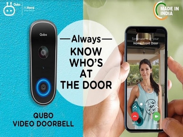 Hero Electronix announces the launch of Qubo Video Doorbell - India's first-of-its-kind smart doorbell