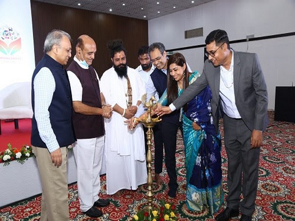 Lamp Lighting at Empowerment Conclave by Y4D Foundation