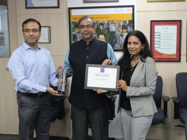Public Health Foundation of India is the winner in the Medical and Health Sciences category of the Clarivate India Research Excellence - Citation Awards 2021 (powered by Web of Science)