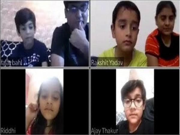 Ramagya School Noida keeps up the momentum of studies through regular virtual classes