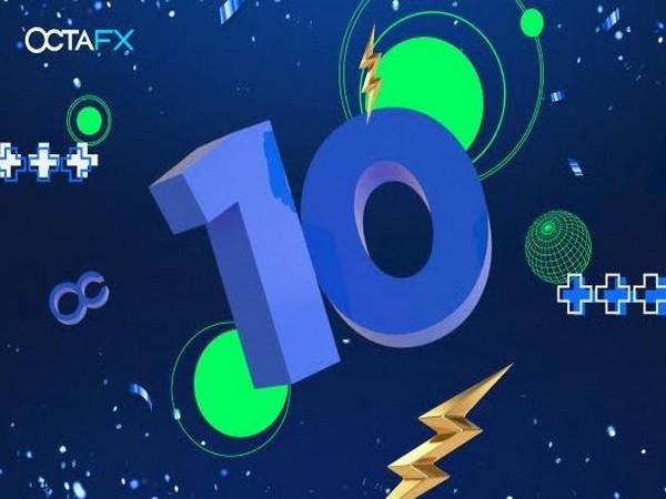 OctaFX 10 Years Anniversary