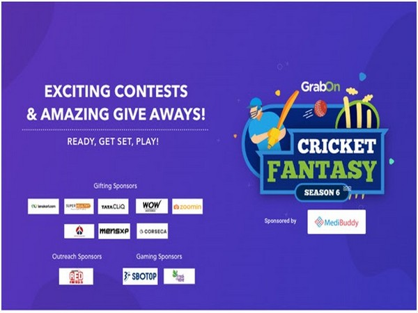 GrabOn brings Cricket Fantasy League in association with MediBuddy, TataCliq, and RedFM