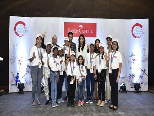 """Faber-Castell concludes """"Art with Purpose 2019"""" with 1.5 million students participation"""