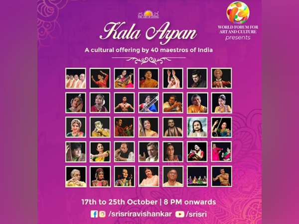 'Kala Arpan' an offering by 40 maestros of Indian classical art at launch of WFAC