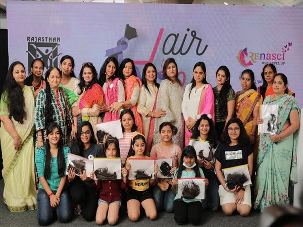 Hair donation for cancer patients organised by RCC Diva Foundation