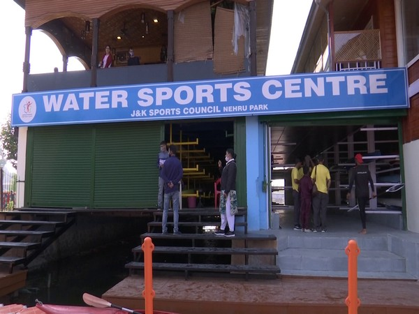 The upgraded Water Sports Centre. (Photo/ANI)