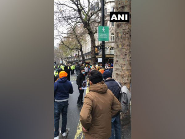 Anti-India protestors mislead UK authorities, flout COVID-19 rules at India High Commission protest