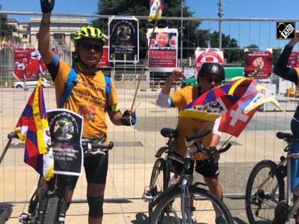 Cycle rally held to spread awareness about Chinese occupation of Tibet
