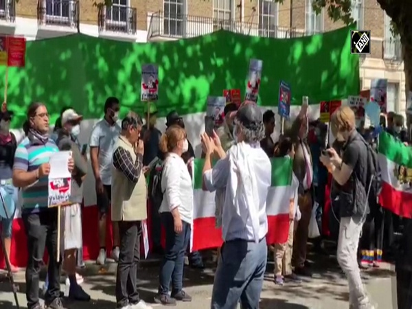 Protest held in London against China's expansionist policies