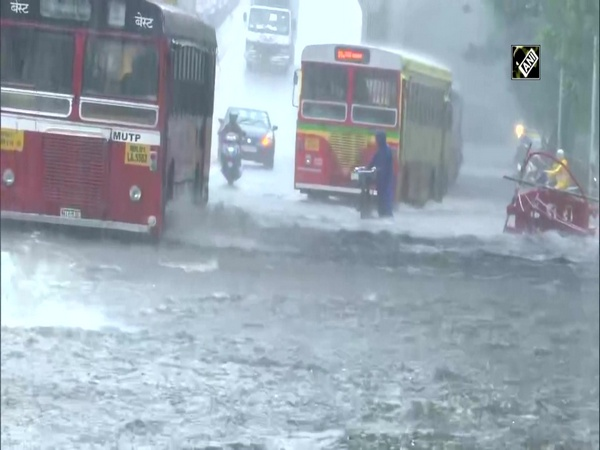 Parts of Mumbai heavily waterlogged following downpour