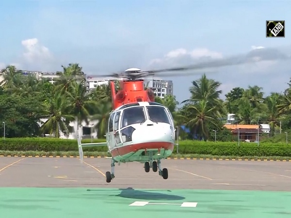 Helicopter brings human heart from Thiruvananthapuram to Kochi
