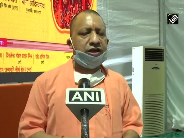 Congress never wanted foundation to be laid where Lord Ram was born: CM Yogi