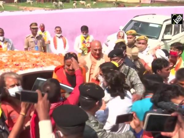 Watch: Yoga Guru Baba Ramdev arrives in Ayodhya ahead of Ram Temple ceremony
