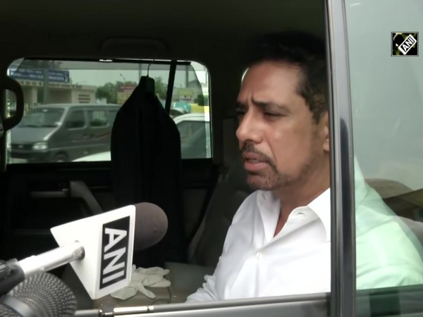 Robert Vadra meets parents of minor rape victim at AIIMS