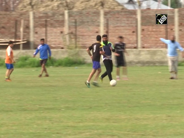 New football stadium set up for budding players in Srinagar