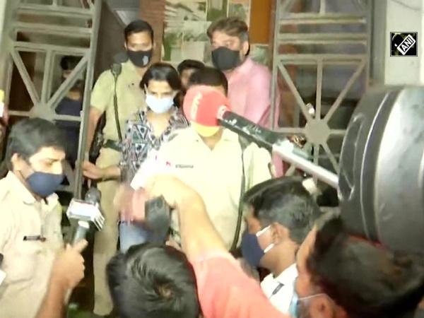 Sushant Singh Rajput's sister Mitu Singh leaves ED office