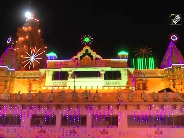 Preparations for Janmashtami are underway at Shri Krishna Janmabhoomi in Mathura