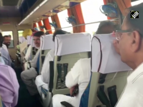 Watch: Rajasthan Congress MLAs sing tunes in bus on way to Jaipur