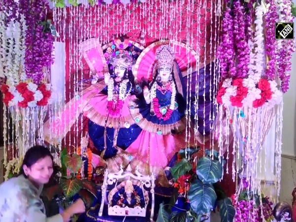 Priests celebrate Krishna Janmashtami with precautions amid COVID-19 scare