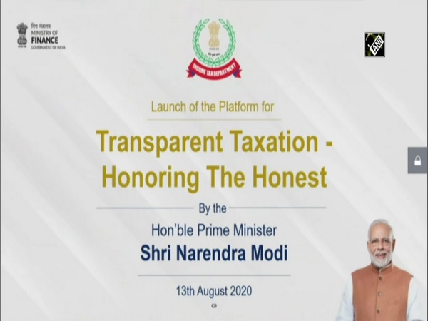 PM Modi launches 'Transparent Taxation' platform to honour honest taxpayer
