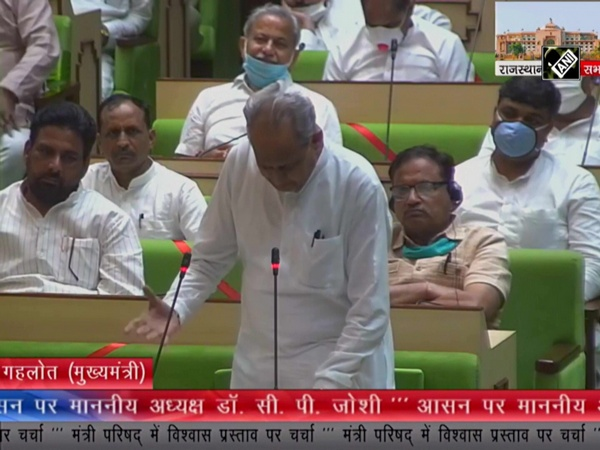 CM Ashok Gehlot questions 'misuse' of ED, CBI in special session of State Assembly