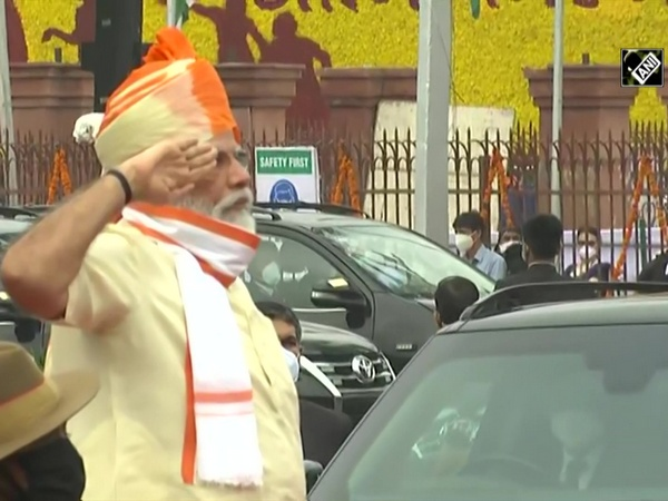 74th I-Day: PM Modi arrives at Red Fort