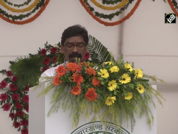 74th Independence Day: Jharkhand CM Soren hoists tricolour