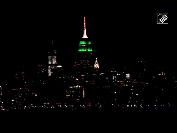 Watch: Empire State Building in New York illuminated in tricolour on 74th I-Day