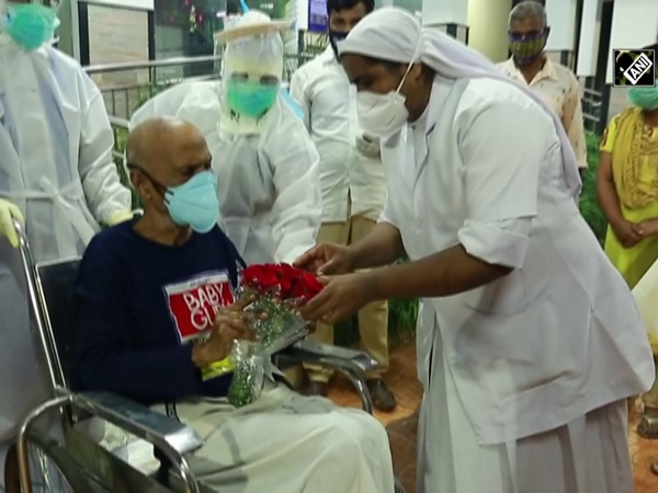 Watch: 103-year-old man recovers from COVID-19 in Kerala's Ernakulam