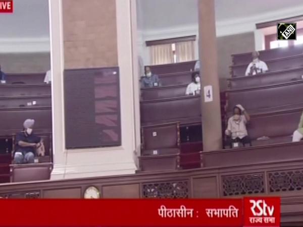 Monsoon Session: Rajya Sabha proceedings begin amid COVID-19 scare