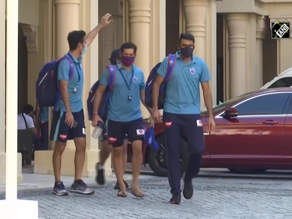 IPL 2020: Delhi Capitals enroute Dubai Stadium for their opening match