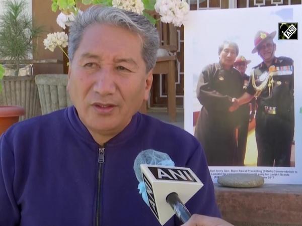 Watch: Ladakhi poet sings his composition, regimental song of Ladakh Scouts