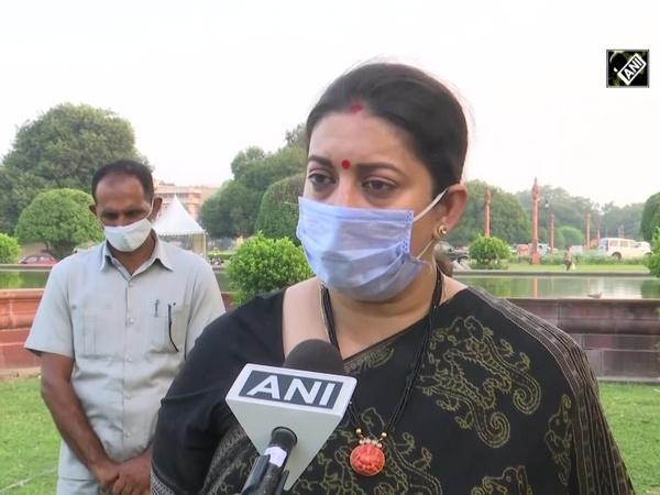 Behaviour of MPs in Rajya Sabha was saddening: Smriti Irani