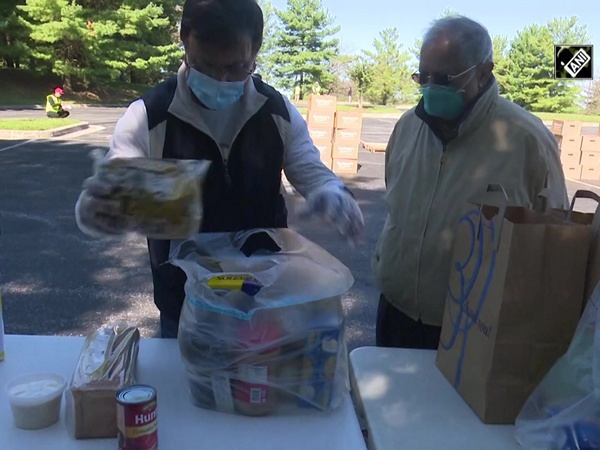 Indian Americans host food distribution drive in Washington DC metro area