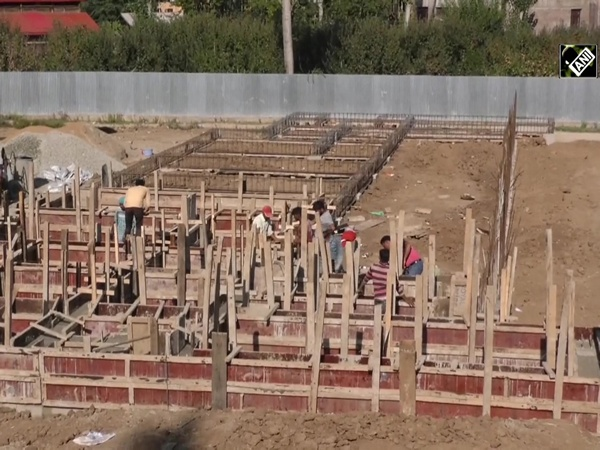 Indoor stadium construction underway in J&K's Kupwara