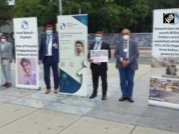 Baloch, Sindhis protest outside UN against Pak's human rights violations in Balochistan & Sindh