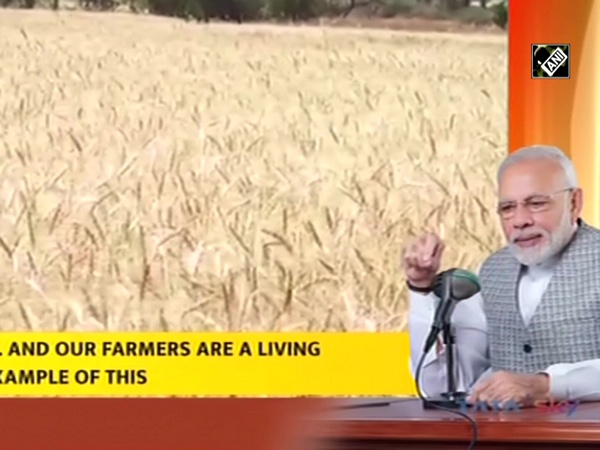 'Farmers playing active role in making India Aatmanirbhar': PM Modi