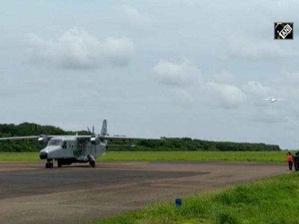 Watch: India's Dornier aircraft lands in Maldives
