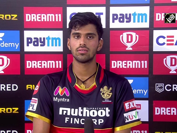 RCB's Washington Sundar gives credit of super over win to Navdeep Saini