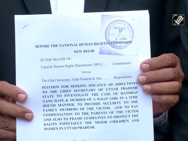 DPCC files complaint to NHRC, seeks time bound investigate in Hathras gangrape case