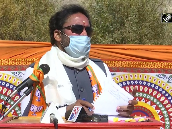 'You want UT status or Article 370', asks MoS Reddy during rally in Leh