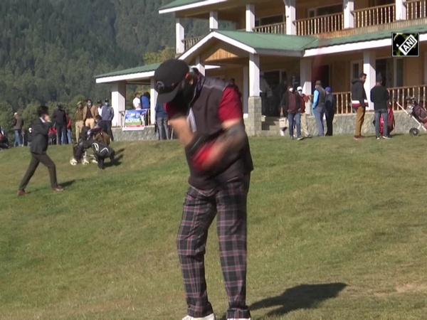 Golf tournament organised in Srinagar to boost sports tourism