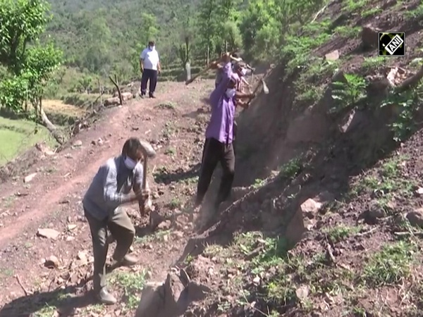 MGNREGA provides jobs to labourers in remote areas of Rajouri