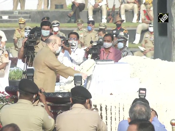 Police Commemoration Day 2020: Amit Shah pays tribute at National Police Memorial
