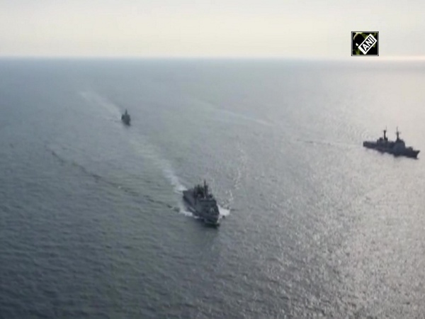 Watch: Bilateral maritime exercise between Sri Lankan, Indian Navies