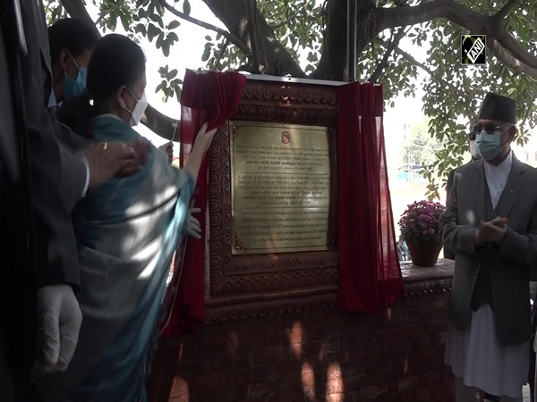 "Nepal completes reconstruction of historical ""Rani Pokhari"" inaugurated by President"