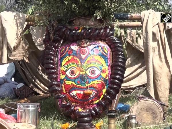 People in Nepal celebrate 'Sikali Jatra' festival