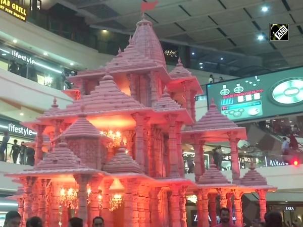 Delhi mall installs Ram Temple replica ahead of Diwali