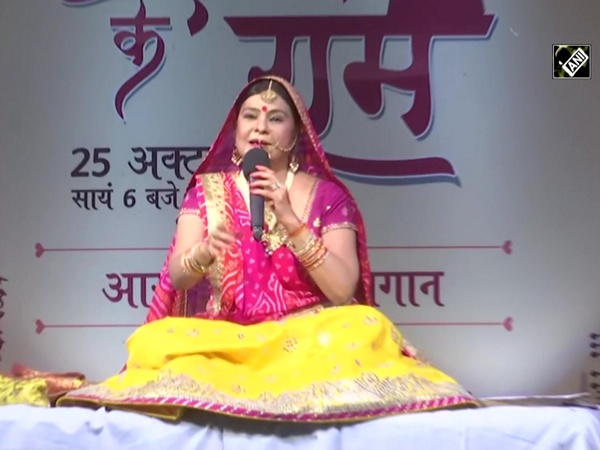 Watch: Folk singer Malini Awasthi enthralls audience in Lucknow