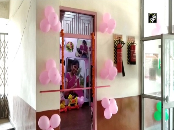Baby feeding room inaugurated at govt office in UP's Rampur